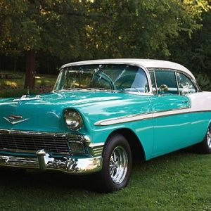 1956-Chevrolet-Bel-Air-2-door-hardtop-for-sale-in-Gallatin-Tennessee-tropical-torquoise-and-Ivy-white-Tropical-torquoise-and-Ivy-white